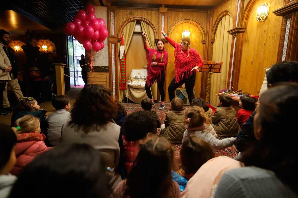 Visitas teatralizadas al Belén de la Fundación Cajasol en Córdoba