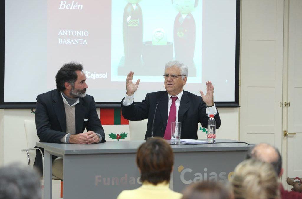 Antonio Basanta ofrece 'Las claves ocultas del belén' en la Fundación Cajasol