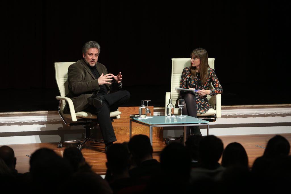 Conferencia de Alex Rovira en la Fundación Cajasol