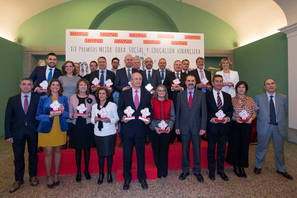 La revista Actualidad Económica premia cuatro proyectos de la Fundación Cajasol