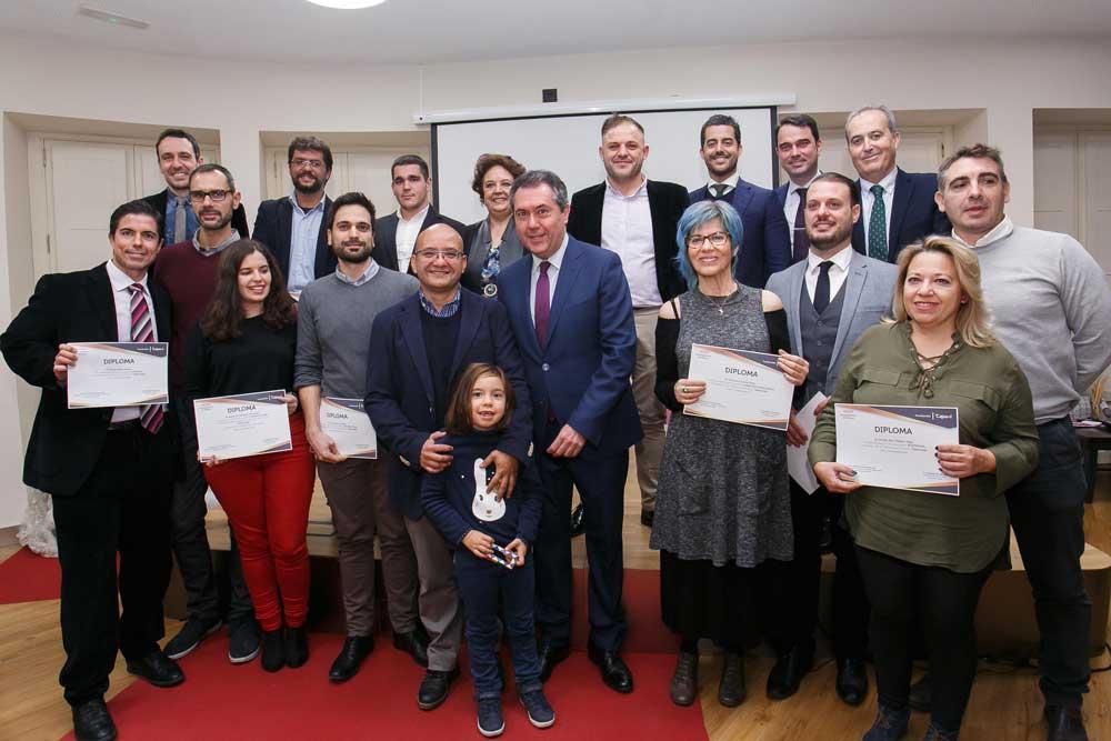 Entrega de los I Premios TalentoLAB Sevilla en la Fundación Cajasol