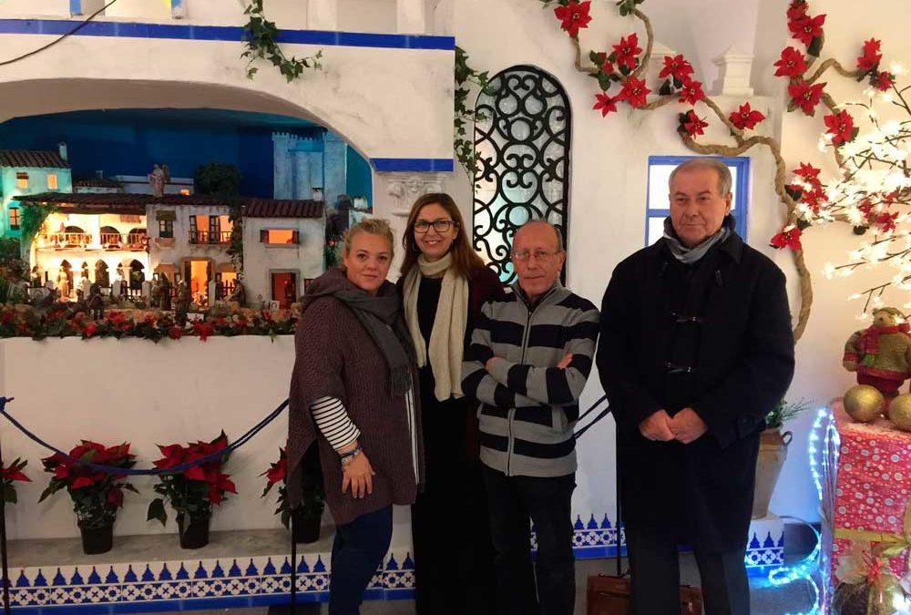 La Fundación Cajasol da el pistoletazo de salida a la Navidad en Huelva con la inauguración de su tradicional Belén