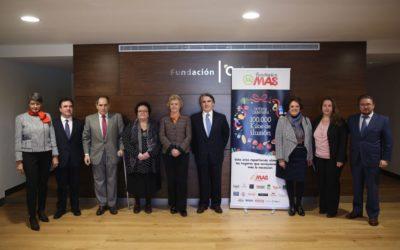 VIII Campaña '100.000 kilos de ilusión' en la Fundación Cajasol