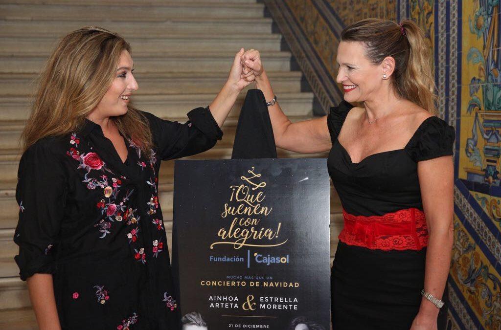 Ainhoa Arteta y Estrella Morente 'suenan con alegría' en Sevilla y Jerez de la mano de la Fundación Cajasol