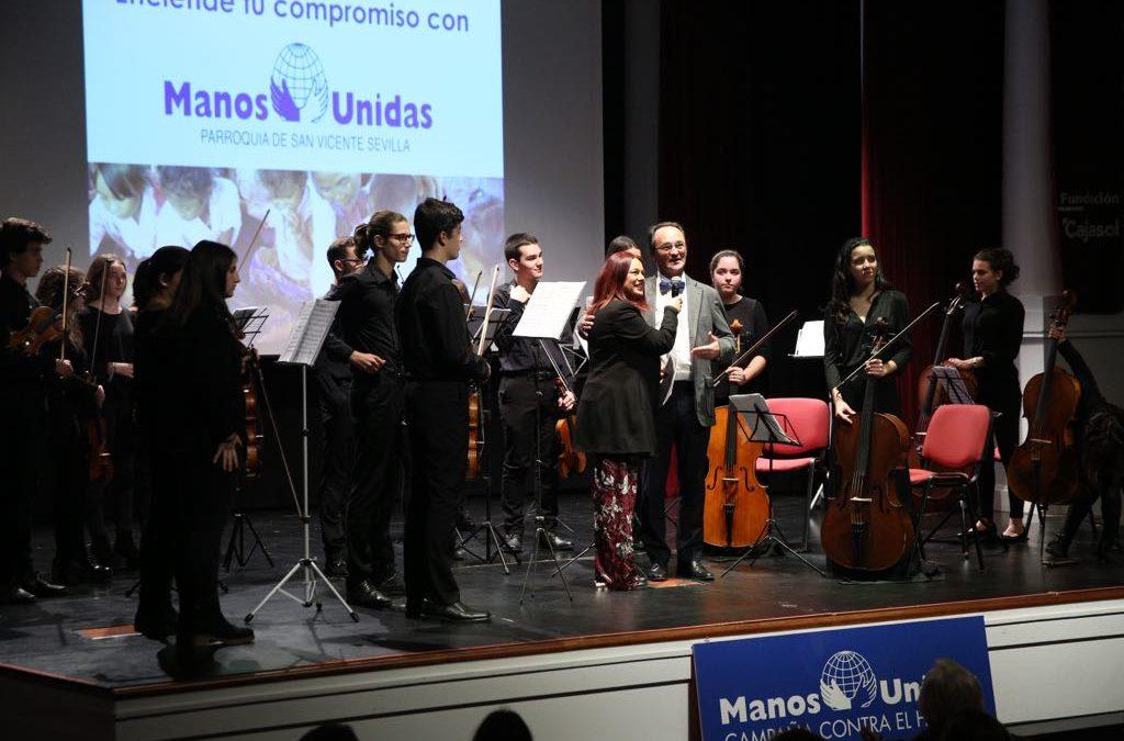 II Gala Solidaria de Manos Unidas Sevilla en la Fundación Cajasol
