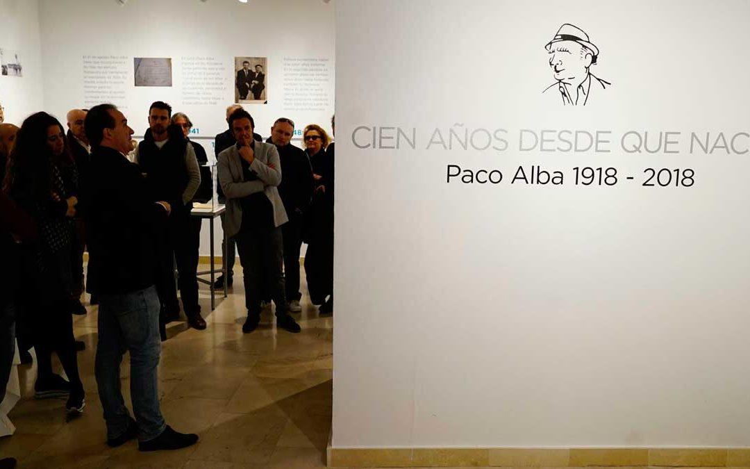 Homenaje a Paco Alba, protagonista del Carnaval de Cádiz 2018, en la Fundación Cajasol