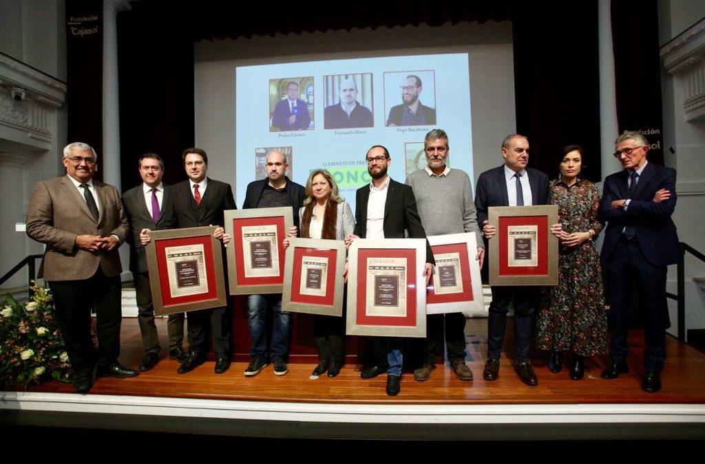 Entrega de los XXVI Premios de la Comunicación de la Asociación de la Prensa de Sevilla