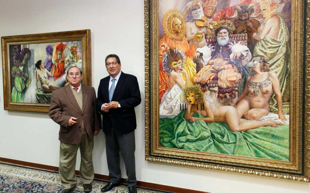 La Fundación Cajasol adquiere la obra más importante realizada por el pintor Juan Valdés