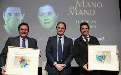 Tomás Campuzano y Rafael Cremades inauguran los 'Mano a Mano' de la Fundación Cajasol en 2018