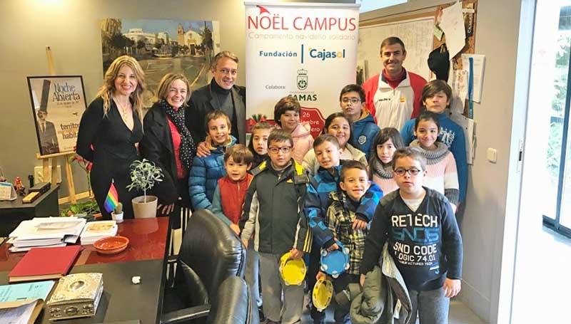 Finaliza el 'Noël Campus' de la Fundación Cajasol: una experiencia única cargada de espíritu navideño