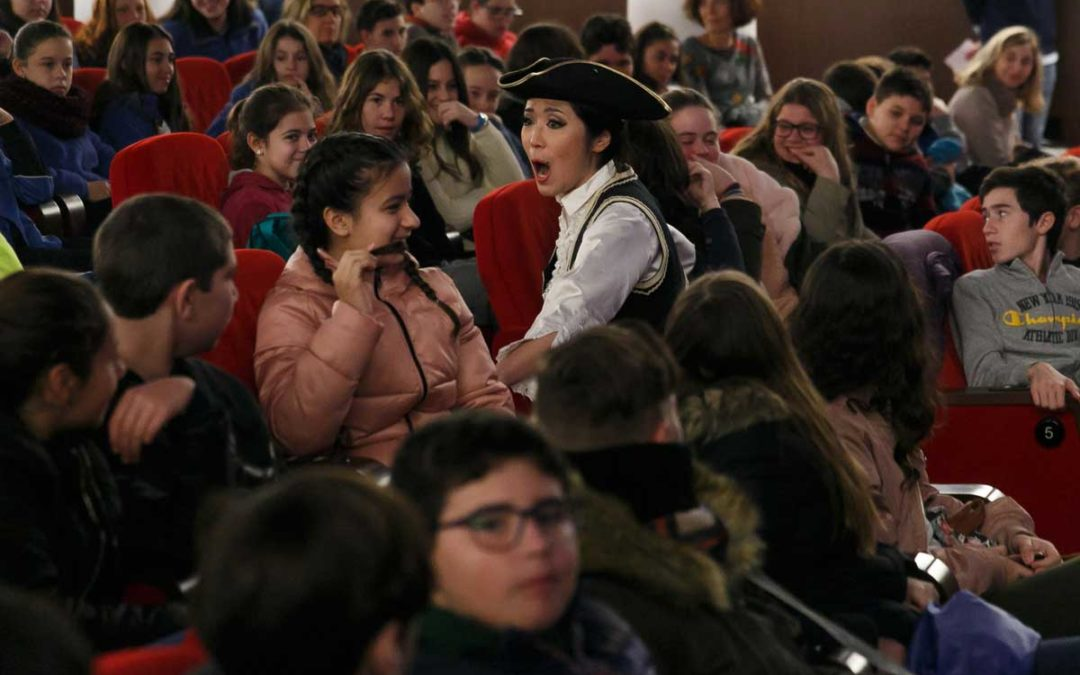 'La ópera es cosa de niños' en la Fundación Cajasol