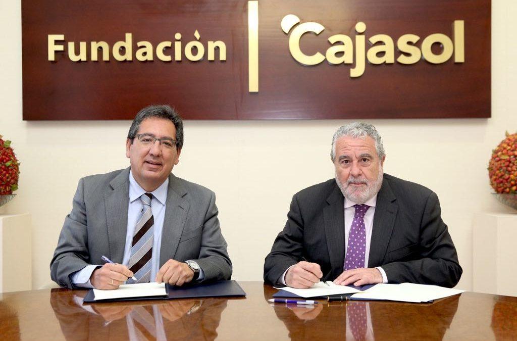 La Fundación Cajasol renueva el acuerdo de colaboración con Canal Sur