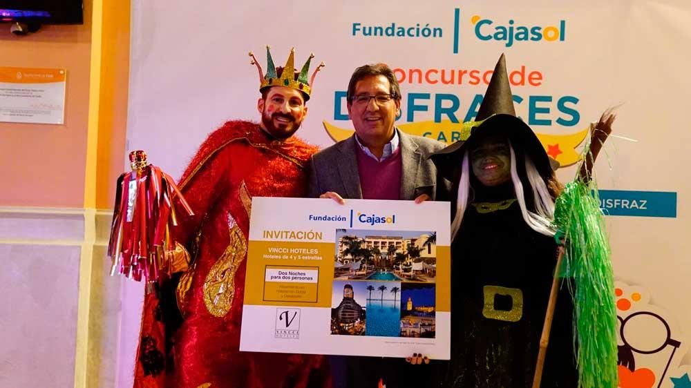 Ganadores del concurso del disfraces en la Final del COAC 2018