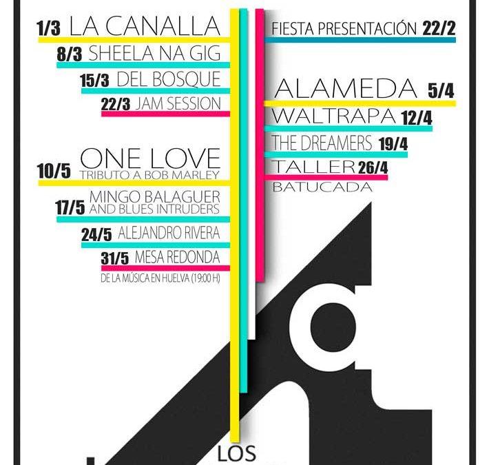 Tercera temporada del ciclo musical 'Los Jueves en la Cuarta' en Huelva