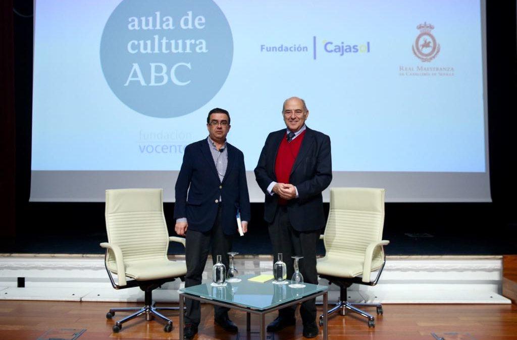 José Antonio Marina, en el Aula de Cultura de ABC de Sevilla