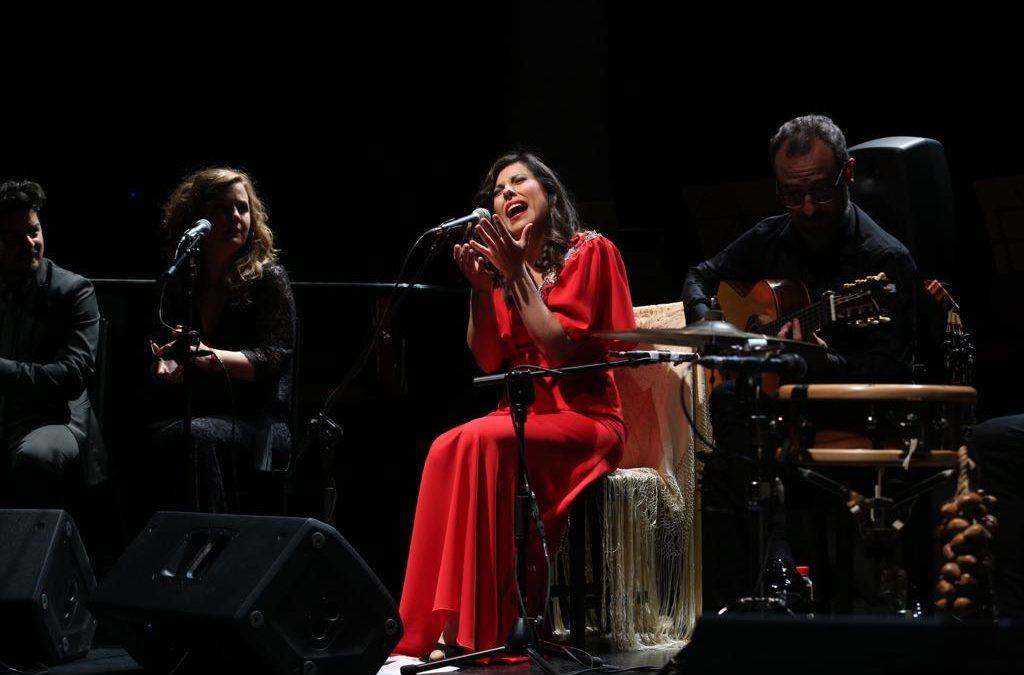Recital de voz y sentimiento de María José Pérez en los Jueves Flamencos