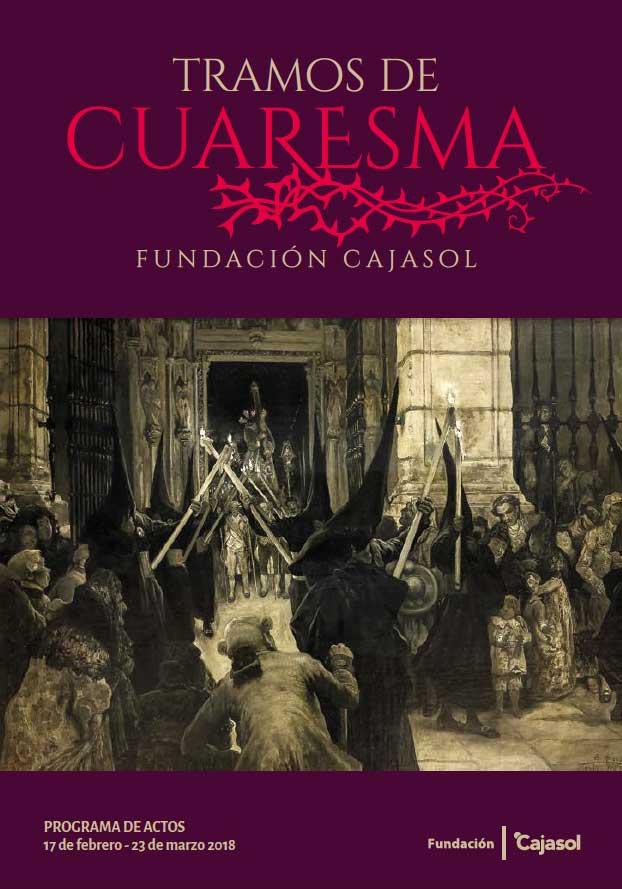 Portada de los Tramos de Cuaresma 2018 de la Fundación Cajasol