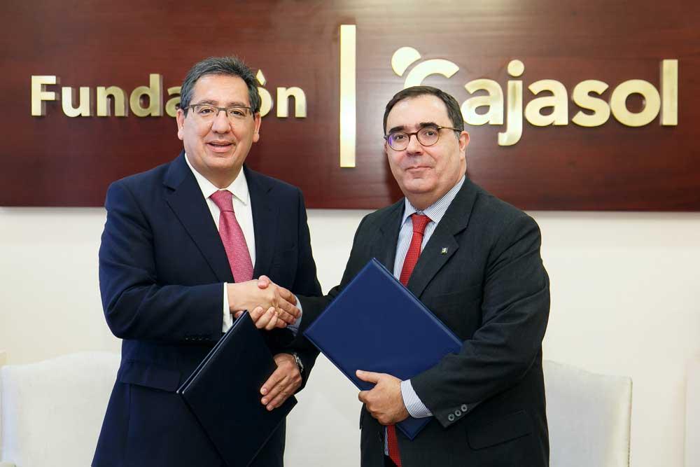 Fundación Cajasol y Fundación Universidad Pablo de Olavide, más de una década de colaboración