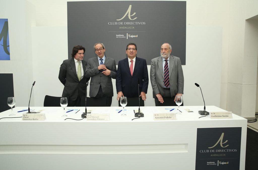 José Manuel González Páramo, protagonista en el Club de Directivos Andalucía