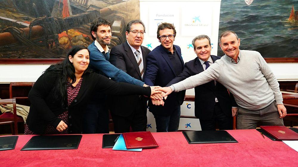Fundación Cajasol, Obra Social 'la Caixa', Ayuntamiento de Cádiz y Save the Children, unidos contra la pobreza infantil en Cádiz