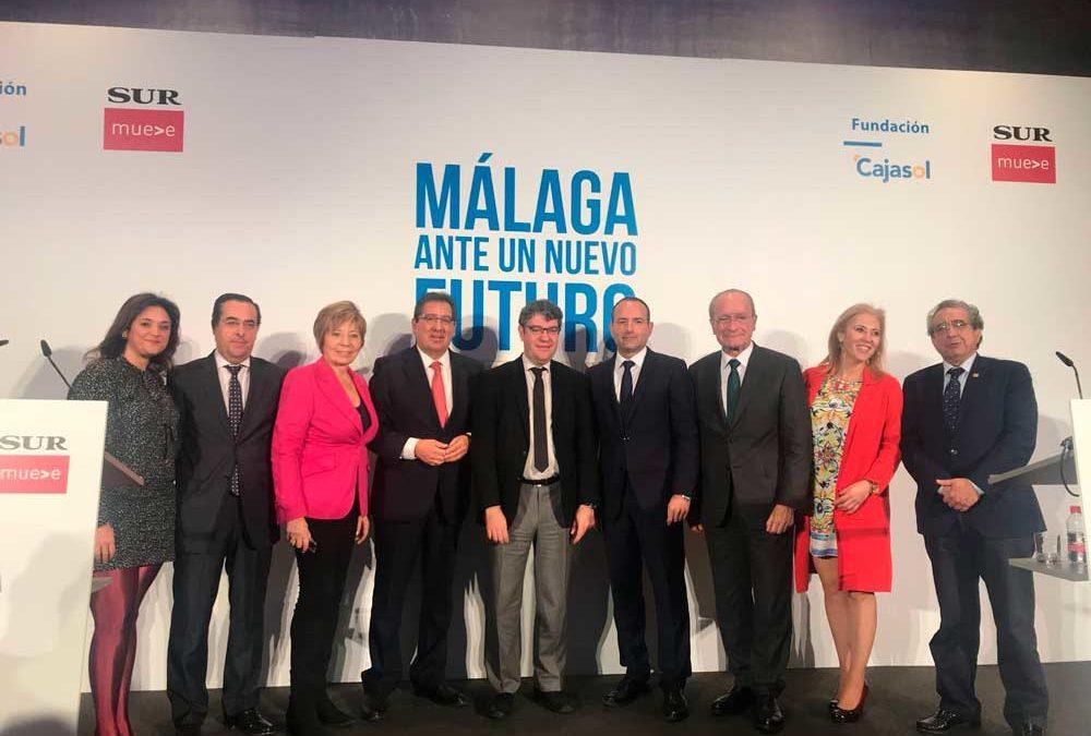 Álvaro Nadal, Ministro de Energía, Turismo y Agenda Digital, en 'Málaga ante un nuevo futuro'