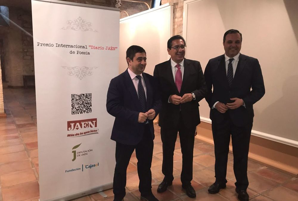 Presentación del I Premio Internacional 'Diario Jaén' de Poesía