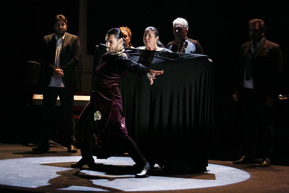 Carmen Ledesma y Amador Rojas se detienen con brillantez en los Jueves Flamencos