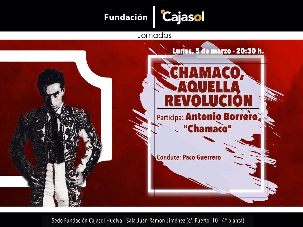 Cartel de presentación de la sesión del ciclo Los Toros dedicada a Chamaco