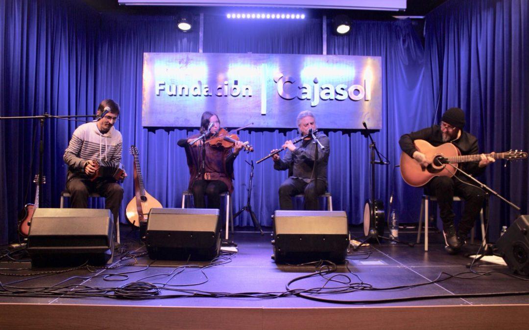 Sheela Na Gig trae sus ritmos folk al ciclo 'Los Jueves en la Cuarta' de la Fundación Cajasol en Huelva