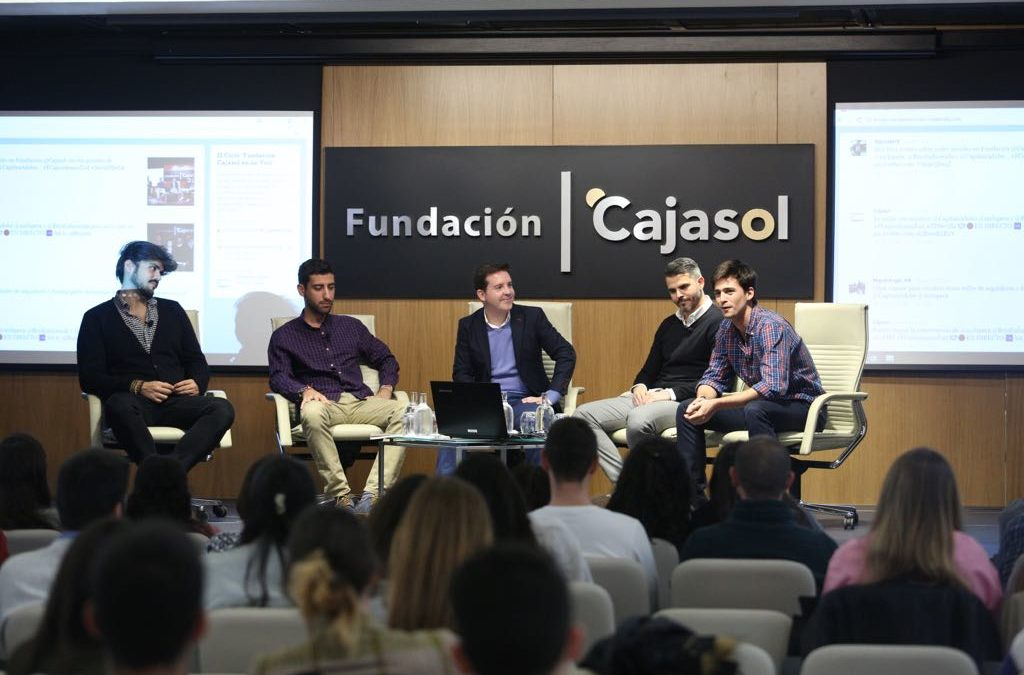 Mesa redonda con tuiteros andaluces de éxito: valores, ingenio y muchas risas