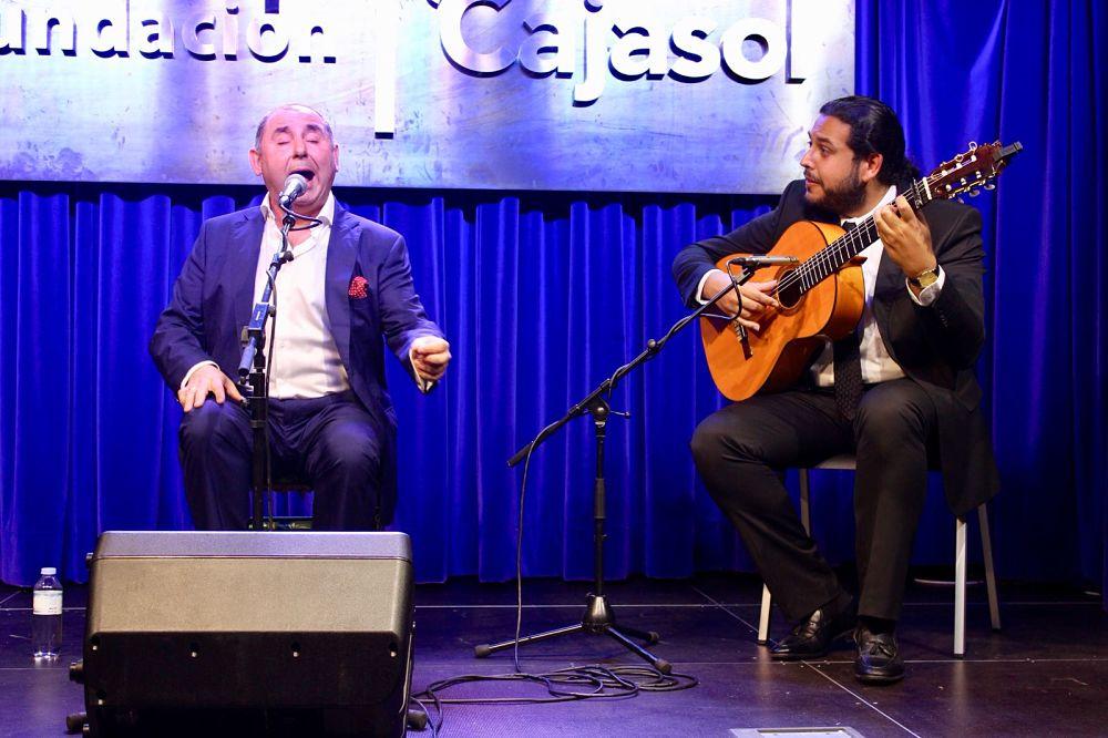 Manuel Cástulo y José de Pura abren el ciclo 'Generación Flamenco' de la Fundación Cajasol en Huelva