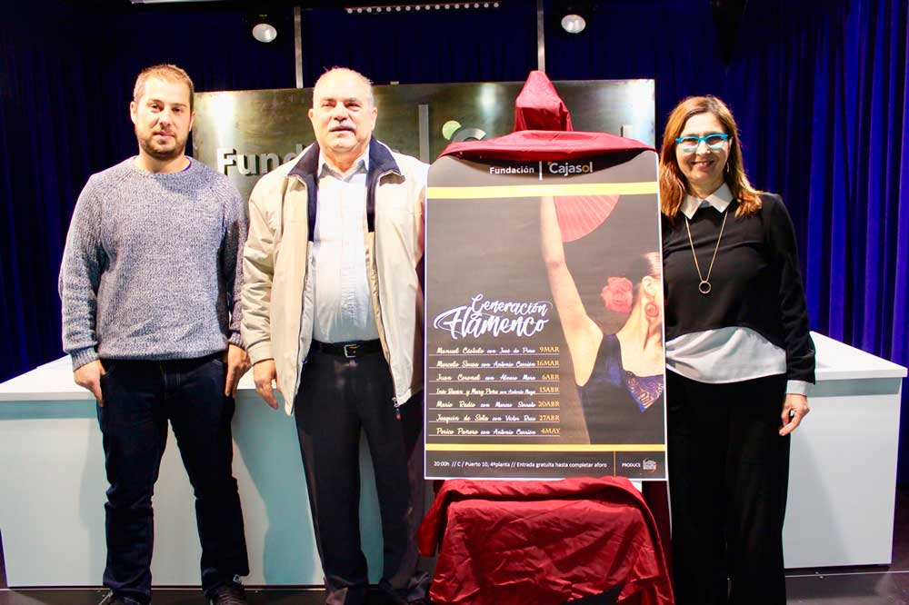 El ciclo 'Generación Flamenco', apuesta de la Fundación Cajasol para los viernes en Huelva