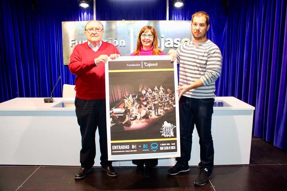 Concierto solidario de la Andalucía Big Band en el Gran Teatro de Huelva