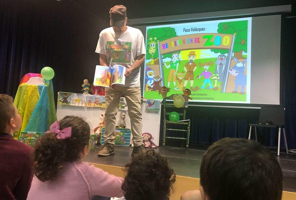 Música, baile y juegos para niños en Huelva con 'Rebelión en el zoo'