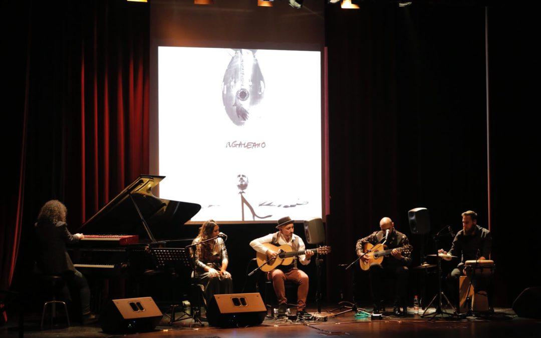 Rycardo Moreno estrena 'A Galeano' en los Jueves Flamencos