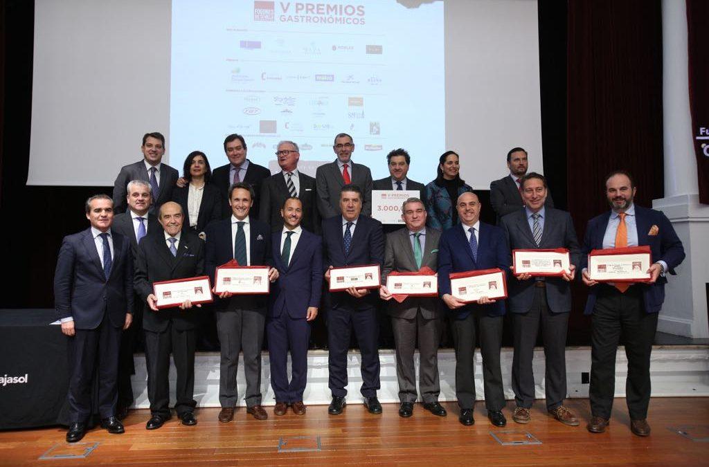 Entrega de los V Premios Gastronómicos 'Fogones de Sevilla' en la Fundación Cajasol