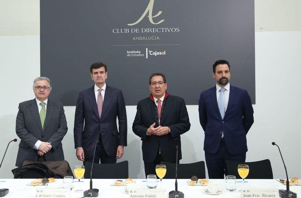 Desayuno-coloquio del Club de Directivos Andalucía con el CFO del Banco Santander