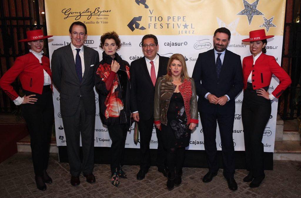 Presentación del V Tío Pepe Festival en la Fundación Cajasol