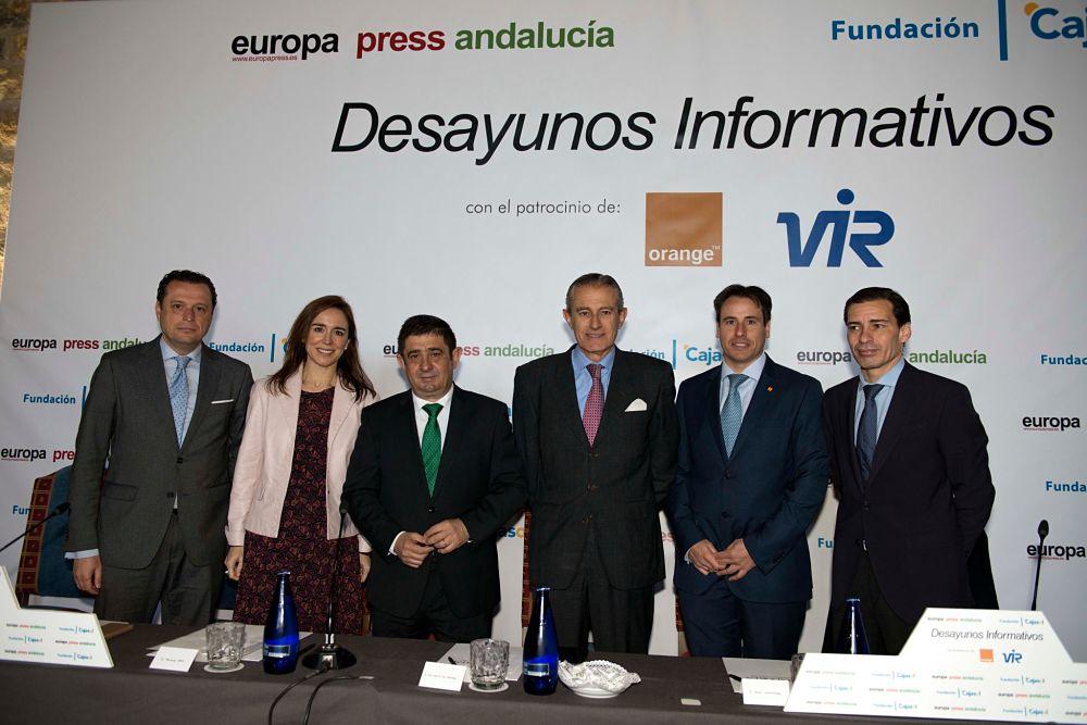 Francisco Reyes, en los Desayunos Informativos de Europa Press en Jaén