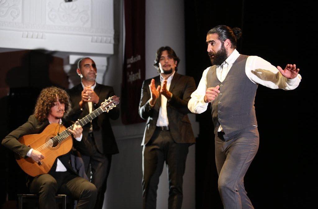 'El Choro' presenta su espectáculo de baile en los Jueves Flamencos de la Fundación Cajasol