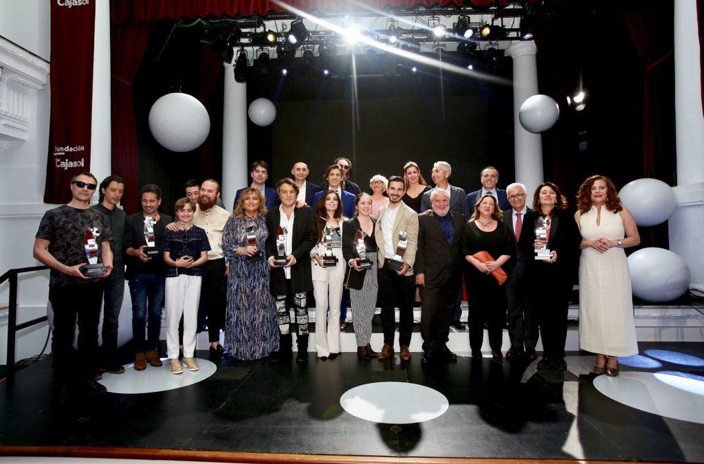 Gala de entrega de los premios 'El Público' de Canal Sur desde la Fundación Cajasol