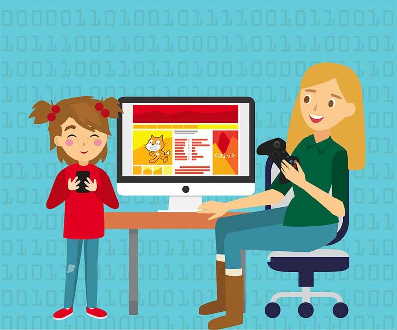 Aprende electrónica digital con Minecraft en familia