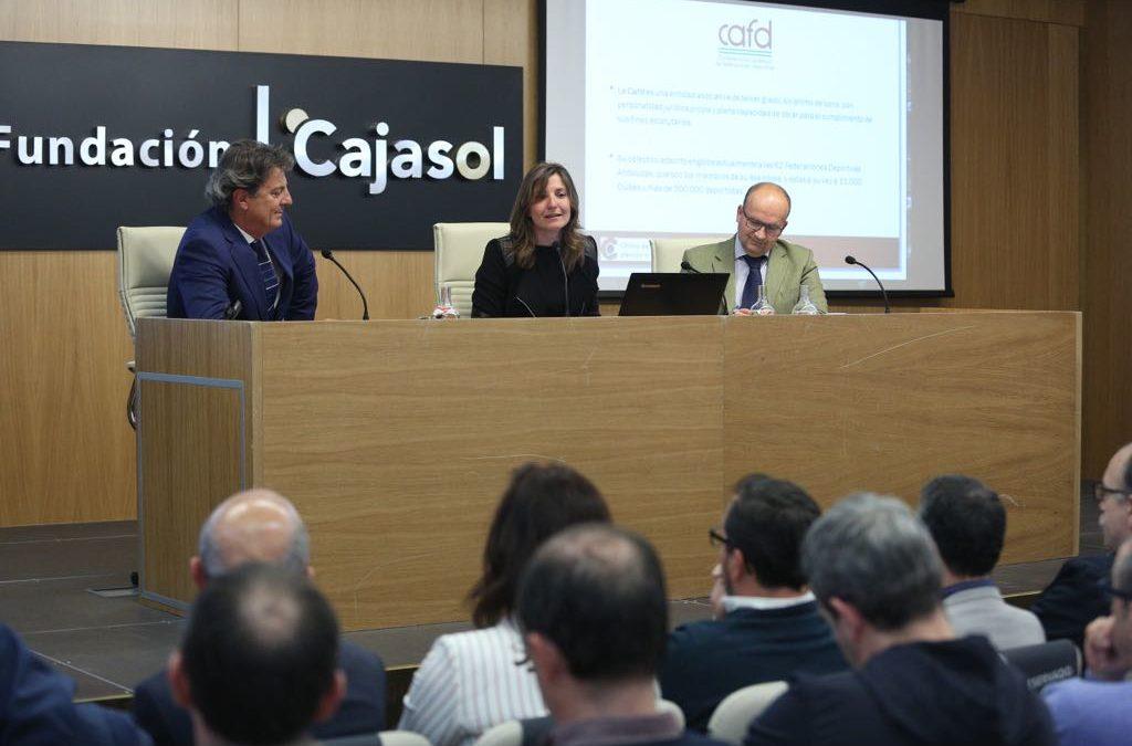 Presentación del 'Plan Reactiva Tu Club' en la Fundación Cajasol