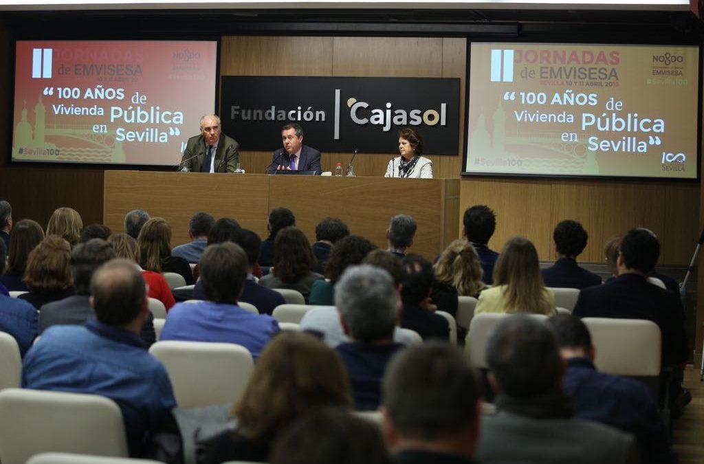 Jornadas '100 años de vivienda pública en Sevilla' desde la Fundación Cajasol