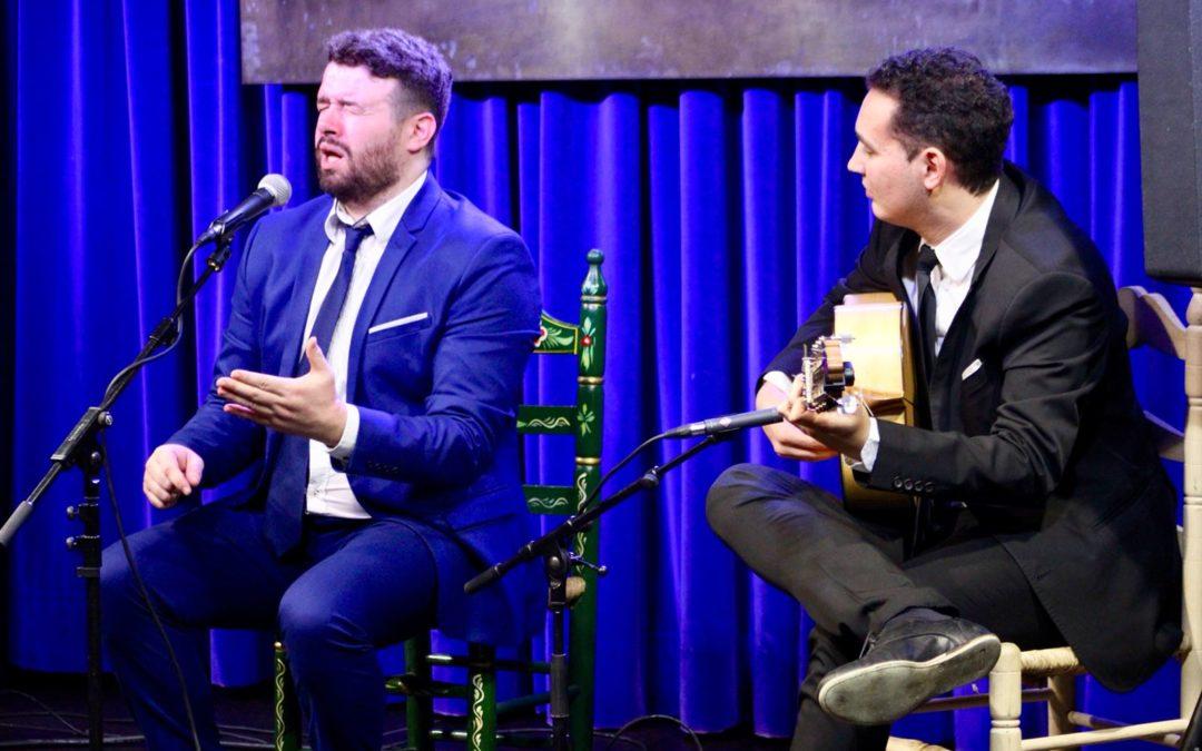 El cantaor Juan Coronel y el guitarrista moguereño Álvaro Mora, protagonistas en 'Generación Flamenco'