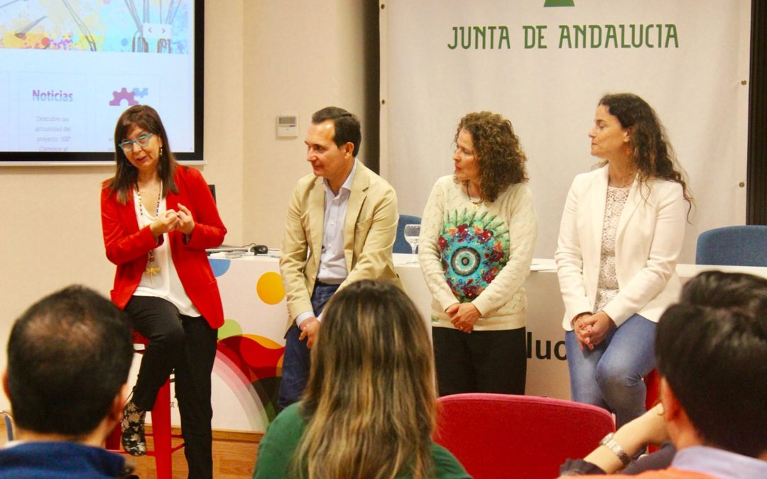 Presentación del V programa '100 Caminos al Éxito' en Huelva