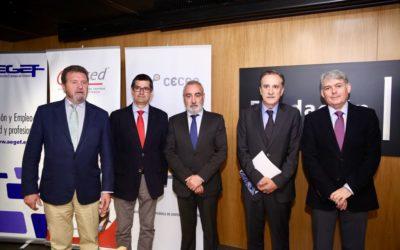 Presentación del informe 'La Formación para el Empleo en España'
