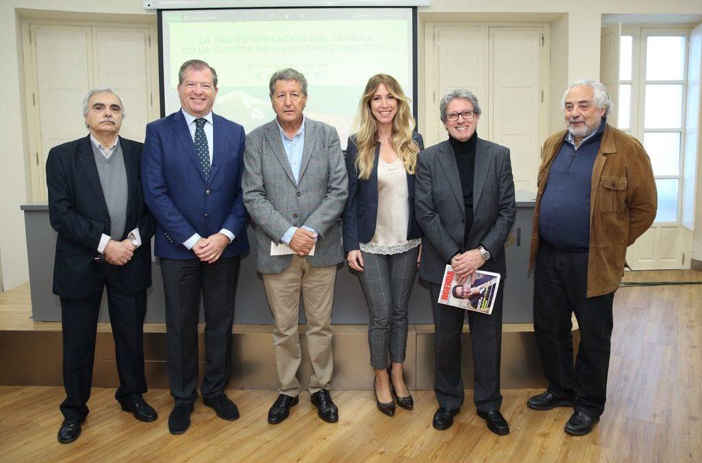 Seminario sobre la cuarta revolución tecnológica en la Fundación Cajasol