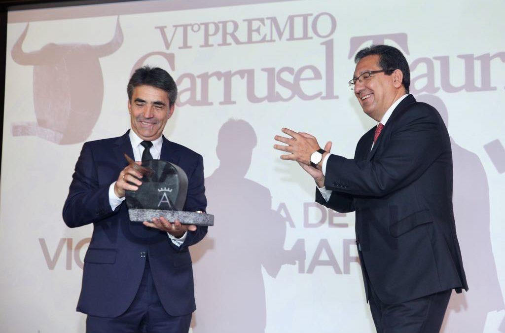 Entrega de los VI Premios Carrusel Taurino en la Fundación Cajasol