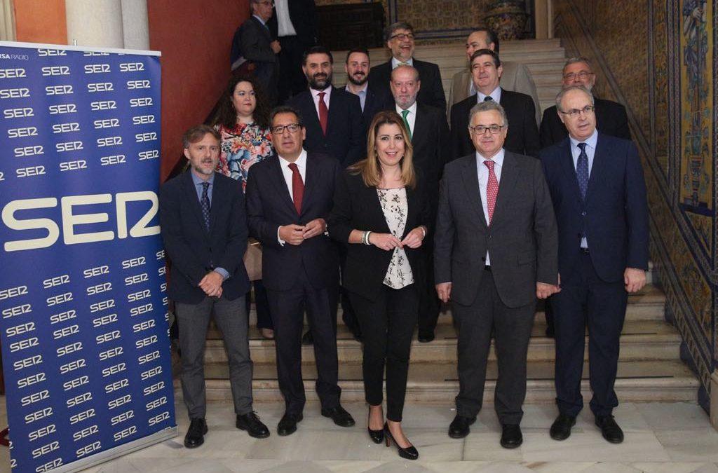 Debate sobre la Economía Circular con la Cadena SER Andalucía